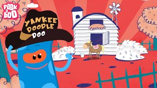 Yankee Doodle | Popular Nursery Rhyme For Kids | Peekaboo