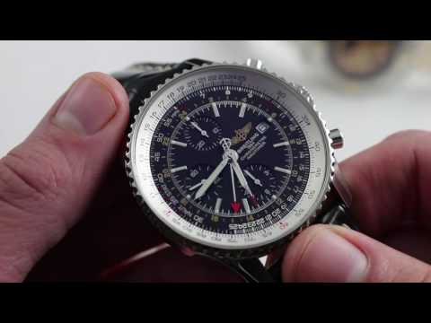 Breitling Navitimer World: Slide Rule How-To & Luxury Watch Review
