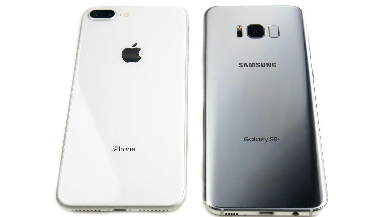 iPhone 8 Plus vs Galaxy S8 Plus Speed Test!