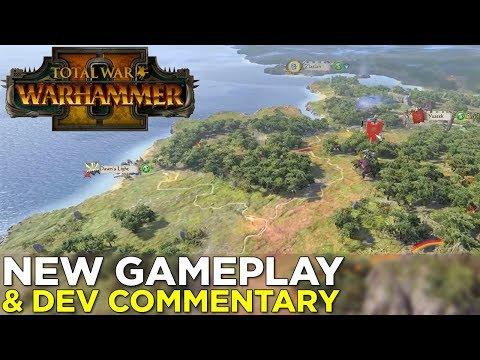 Total War: Warhammer II — SKAVEN GAMEPLAY & Developer Commentary!