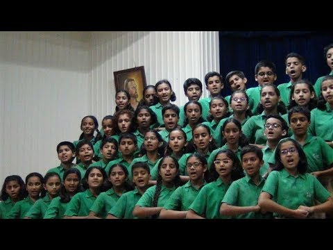 Vidya Valley Choir  at  Hutchings School, Pune on 15th Sep 2017