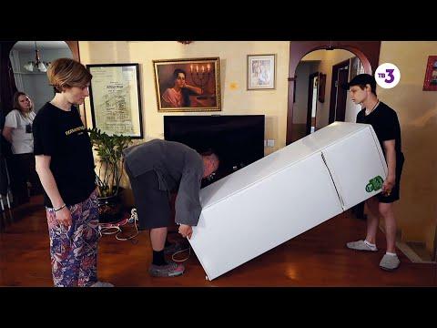 Кого вынесут скорее: Охлобыстина или холодильник? | Охлобыстины | фрагмент из 4 выпуска, 15.11.2019