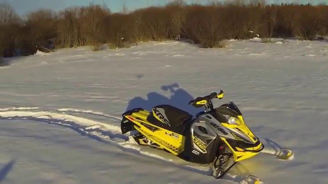 2015 Ski Doo Xrs >> 2016 Skidoo MXZ XRS 800 Etec - YouTube