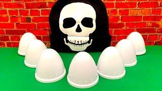 Halloween Special Surprise Eggs  हेलोवीन विशेष आश्चर्य अंडे