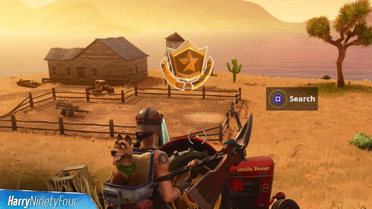 Secret Season 6 Week 1 Battlestar Location Guide Hunting Party