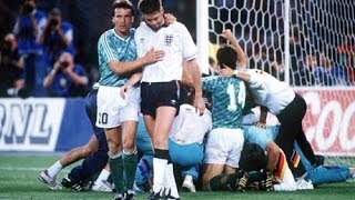 World Cup 1990: England - Germany Penalty Shoot-Out