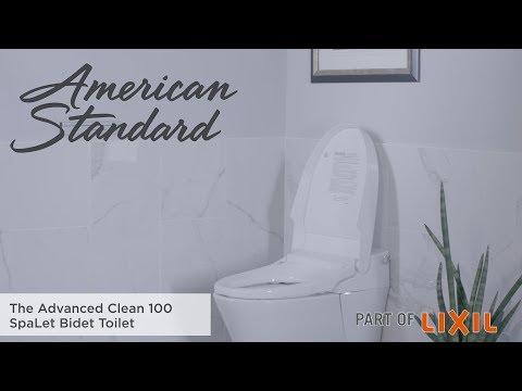 The Advanced Clean 100 SpaLet Bidet Toilet By American Standard