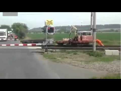 Случай на железнодорожном переезде