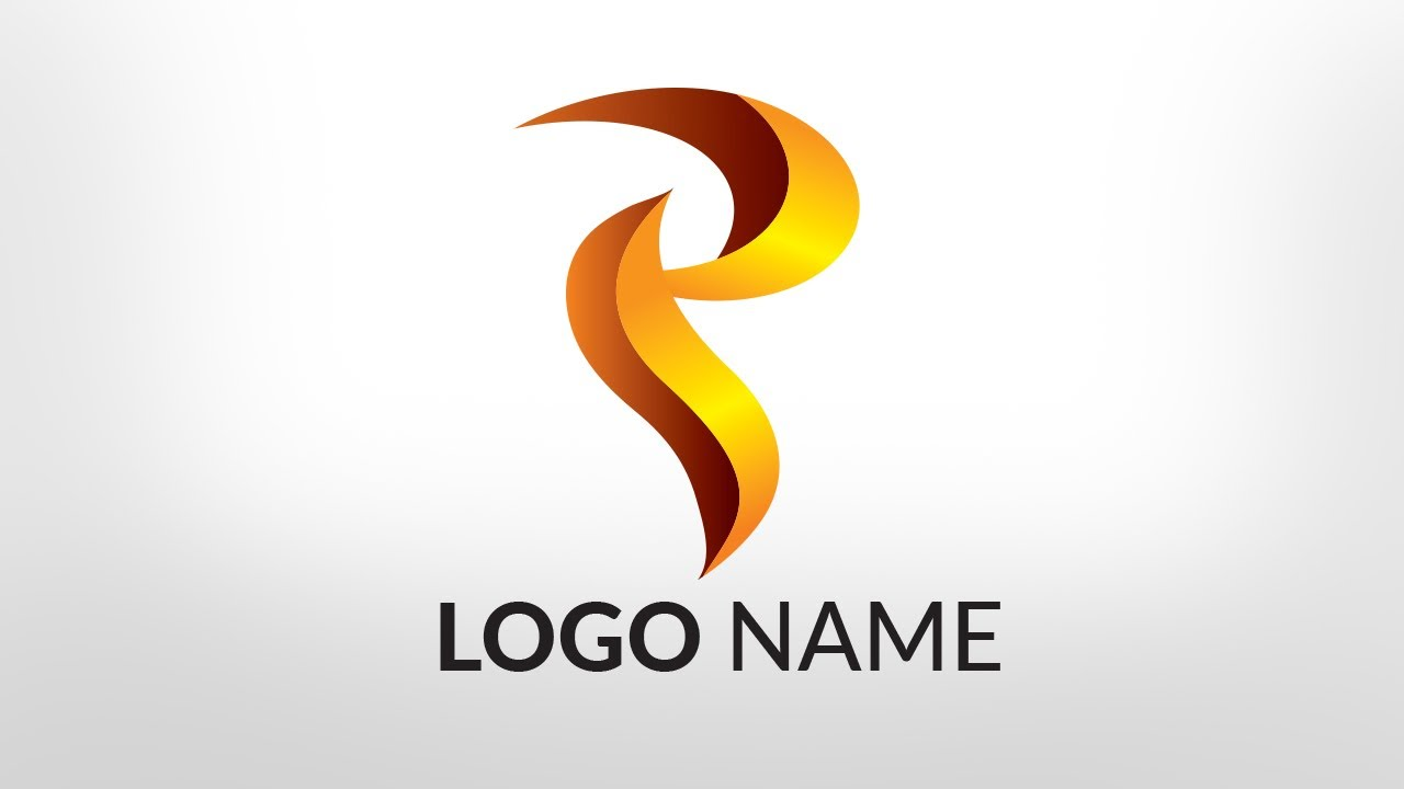 Tutorial How To Make A Professional P Text Logo In Illustrator