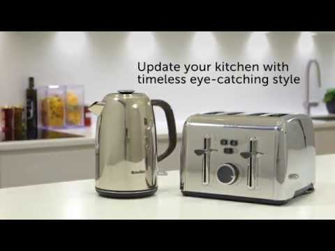 Breville Colour Notes Kettle and Toasters