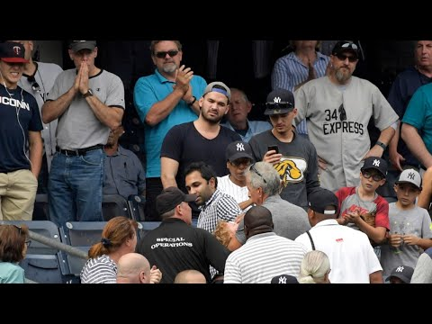 Child Hit By Foul Ball At Yankee Stadium