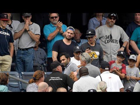 Child Hit By Foul Ball At Yankee Stadium