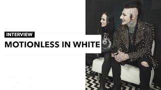 Motionless in White share their thoughts on social media and growing up in Scranton, PA