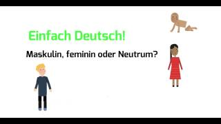 Pdf maskulin tabelle feminin neutrum Feminin maskulin