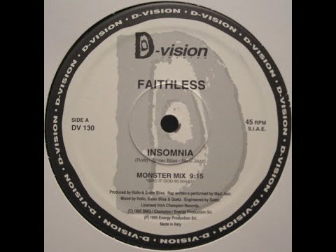 Faithless ‎– Insomnia (Monster Mix)