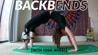 Back Bends (with Yoga Wheel) - Yoga With Alysa