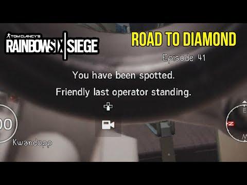 "Rainbow Six Siege Road to Diamond Episode 41: ""Friendly Last Operator Standing"""