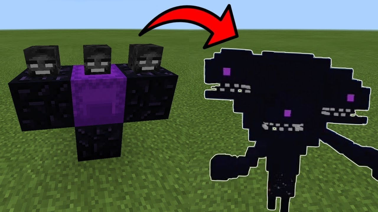 MCPE: How To SPAWN the WITHER STORM