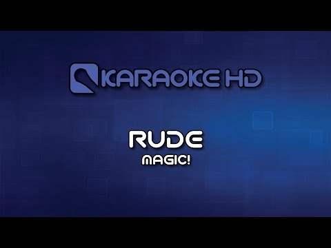Magic! - Rude Karaoke HD
