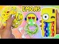 ♥ DIY: 3 Manualidades de Emojis - Fidget Spinner Casero, Funda Móvil y Soporte Auriculares ♥