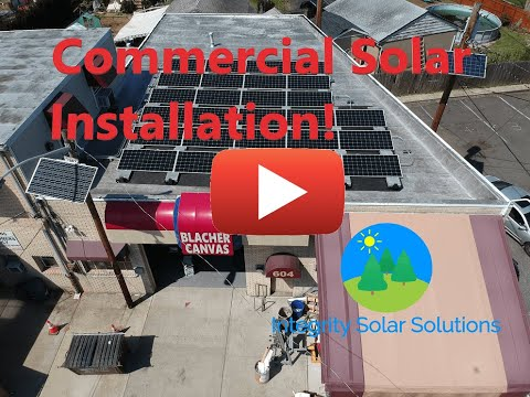 Blacher Canvas Products Solar Installation Video