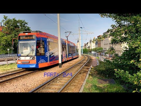 Halle (Saale) and its tram / Germany, June 2017 / Part: 2/4