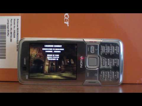 Quake 3 Arena On Nokia N82 with Accelerometer