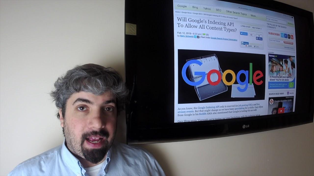 Video: Google Algorithm Update, Google Assistant Ads