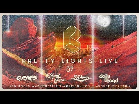 Pretty Lights Live @ Red Rocks Amphitheatre - Morrison, CO - 08/11/17