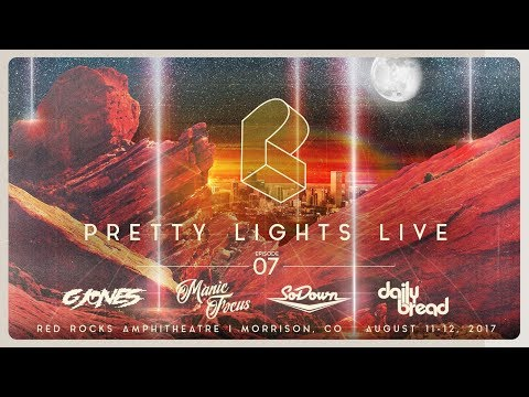 Pretty Lights Live @ Red Rocks Amphitheatre - Morrison, CO - 08/11/17
