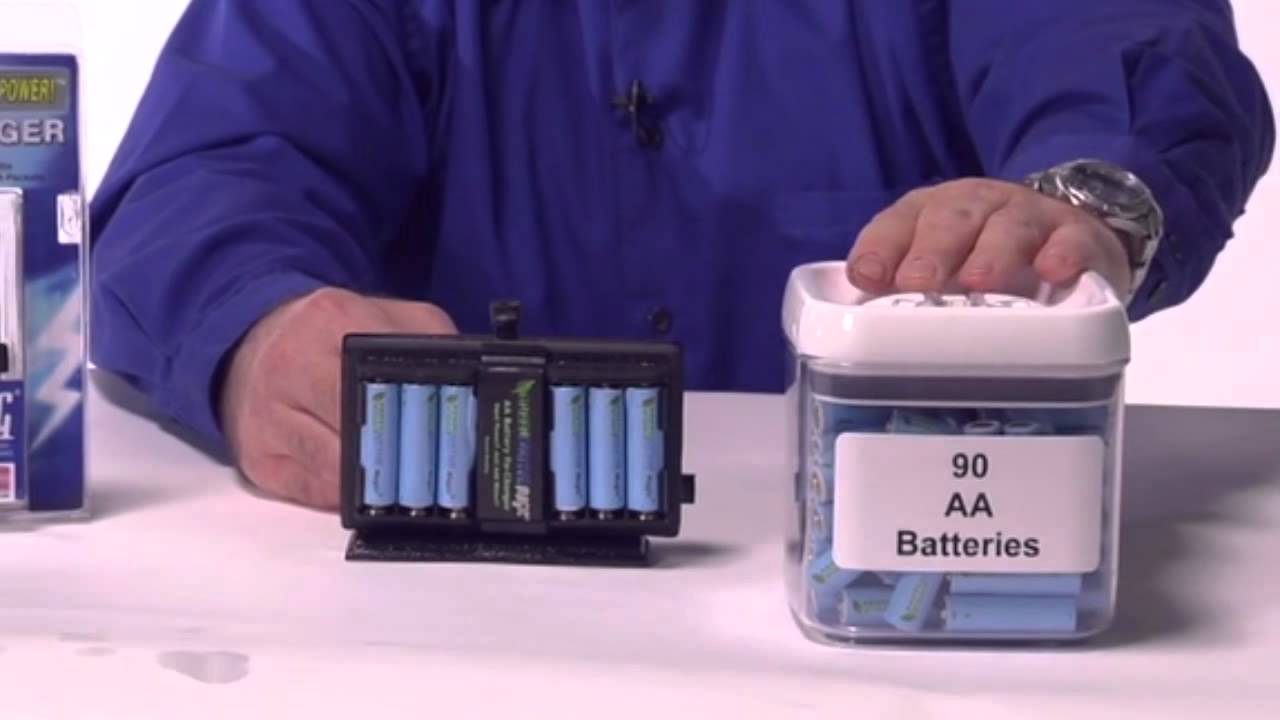 Product Overview: G-MAG Survival Salt Water AA Battery Charger Recharger