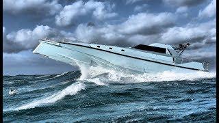 Thunder Child II & Wildcat 40 testing in Storm Gareth