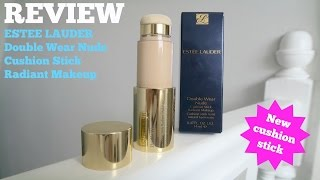 estee lauder new double wear nude cushion stick radiant foundation review