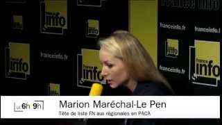 Marion Maréchal-Le Pen : « Nous sommes crédibilisés »