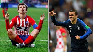 The reason why Antoine Griezmann always wears a long sleeved jersey - Oh My Goal