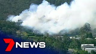 NSW bushfire crisis November 2019 threatens homes at South Turramurra | 7NEWS