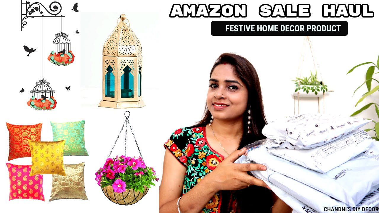 Amazon Festive Home Decor Haul || Diwali Special Haul || Amazon Great Indian Festival Sale 2020 ||