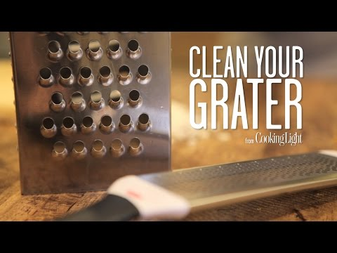How To Clean Your Grater