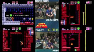 Super Metroid :: SPEED RUN (4-Way Race) (0:45:51) #AGDQ 2014