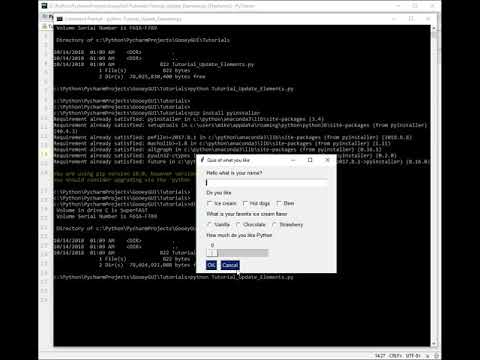 Lesson 4 - Creating EXE Files Tutorial - Building GUI applications in  Python using PySimpleGUI