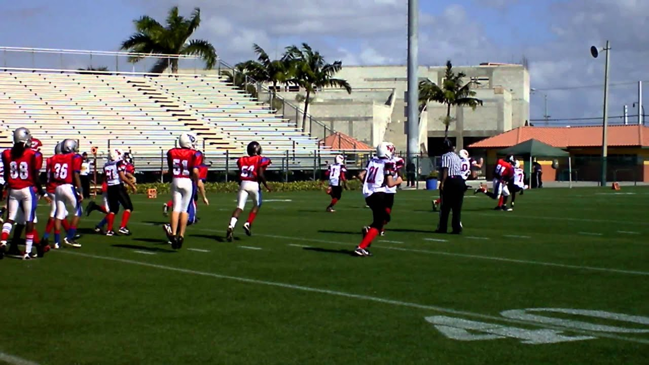 2011 PBCYFL140 All Stars vs Key West. Orange Bowl Youth Football Alliance  Playoff. 003.MP4 7e0131b25