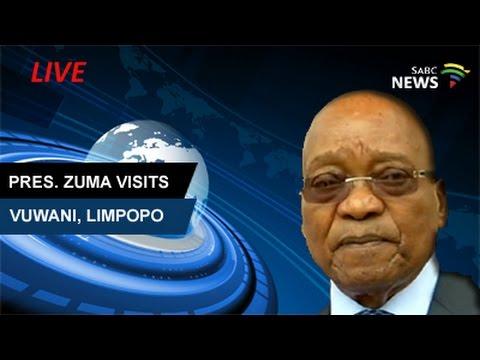 President Zuma visits Vuwani, Limpopo: 07 May 2017
