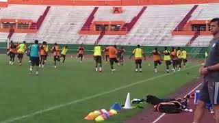 تداريب المنتخب الإيفواري مساء اليوم الثلاثاء بملعب فيليكس هوفويت بوانيي