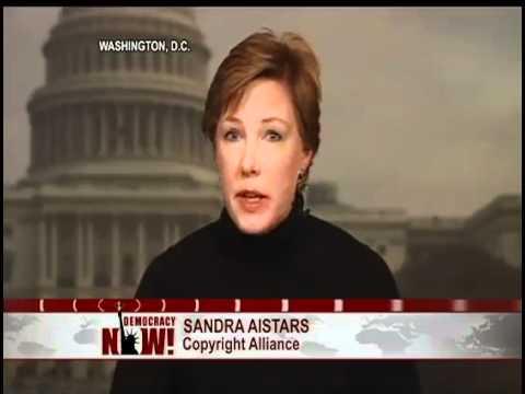 Ley SOPA:  Debate entre Jimmy Wales de Wikipedia y Sandra Aistars de Copyright Alliance (1 de 2)