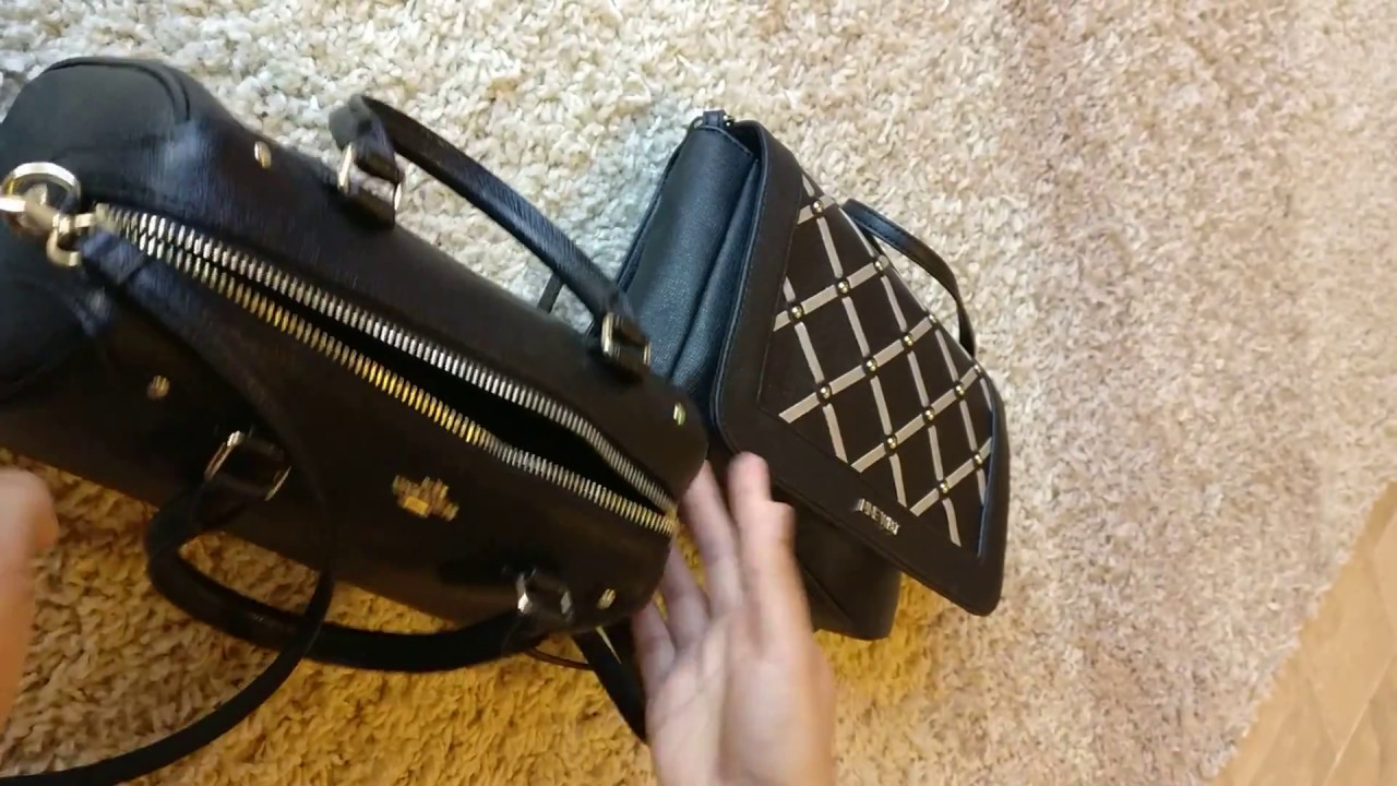 fc17c05fb5b What s in my Bag - Moving into my Coach Mini Bennet Satchel (Outlet Find!)