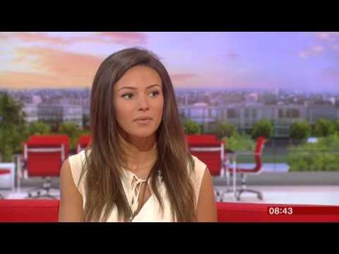 Michelle Keegan Ordinary Lies BBC Breakfast 2015