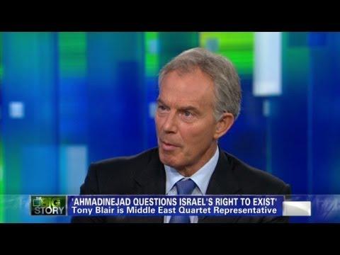 Tony Blair On Israel And Iran