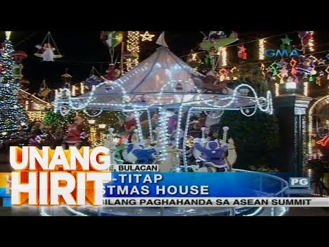 Unang Hirit: Pasko-titap Christmas House sa Bocaue, Bulacan