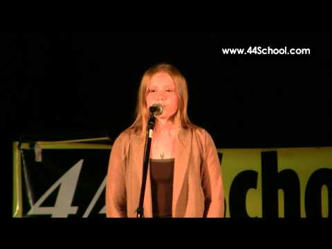 Samantha K 44 School of Music Fall Concert 2012 Voice Lessons
