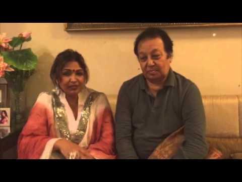 Famous Ghazal Singers Bhupinder & Mitali Singh pleased with PYAAR BEPANAH, a Ghazal album